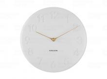 Designové nástěnné hodiny 5771WH Karlsson 25cm