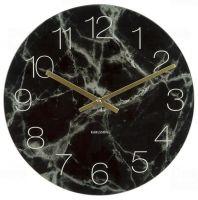 Designové stolní i nástěnné hodiny 5616BK Karlsson 17cm