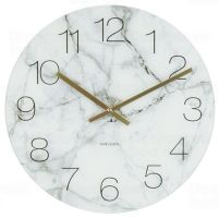 Designové stolní i nástěnné hodiny 5616WH Karlsson 17cm