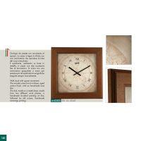 Nástěnné hodiny Originální italské hodiny s dřevěným rámečkem Lowell Italy Nástěnné hodiny