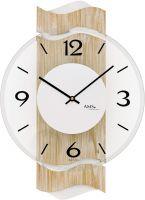 Designové nástěnné hodiny kulaté ams 9621 sonoma