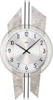 Nástěnné hodiny quartzové ams 9626 antik stříbrná