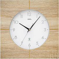 Nástěnné hodiny rádiem řízený čas ams 5545 sonoma