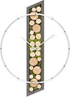 Designové nástěnné hodiny kulaté velké ams 9607 velké kulaté