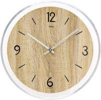 Nástěnné hodiny velké, kulaté ams 9628 sonoma