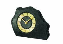 Stolní hodiny quartzové ams 1105 černá zlatá