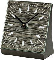 Stolní hodiny quartzové ams 1156 černá