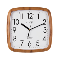 Nástěnné hodiny JVD quartz H615.4 čtvercové hodiny