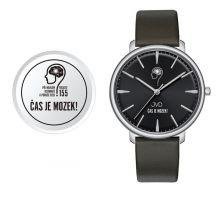 Náramkové hodinky JVD Čas je mozek