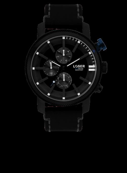 Designové hodinky LOSER Legacy BLACK CODE