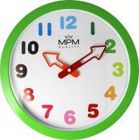 Nástěnné dětské hodiny Arrow ve veselých barvách s ručičkami ve tvaru šipek E01.4050