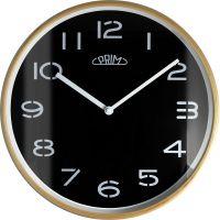Nástěnné dřevěné hodiny PRIM Woody kombinují retro a moderní styl. E01P.4048