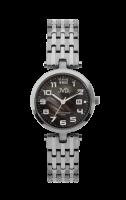 Náramkové hodinky JVD chrom titan, č.č.