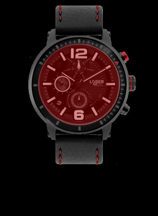 Moderní pánské hodinky LOSER S-Mode FIRE