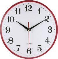 Plastové hodiny Rock s retro číslicemi a výraznou vteřinovou ručičkou E01.2469