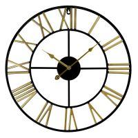 Nástěnné kovové hodiny MPM Vintage Fancy s plynulým chodem v honosném vintage designu.Hodiny jsou vybaveny strojkemQuartz Taiwan.  * Hodiny jsou vyrobeny z kovu, který je svařován. Inde