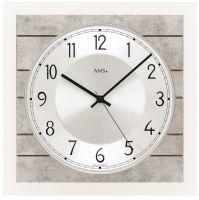 Designové nástěnné hodiny 5564 AMS řízené rádiovým signálem 25cm