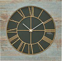 Designové nástěnné hodiny ams 9640 velikost 50 cm