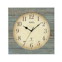 Designové nástěnné hodiny 5549 AMS řízené rádiovým signálem 34cm