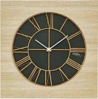 Designové nástěnné hodiny ams 9641 velikost 50 cm
