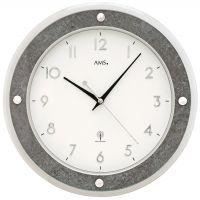 Designové nástěnné hodiny 5566 AMS řízené rádiovým signálem 31cm