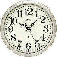 Designové nástěnné hodiny 5559 AMS řízené rádiovým signálem 42cm