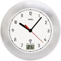 Koupelnové hodiny ams 5920 rádiem řízené bílá