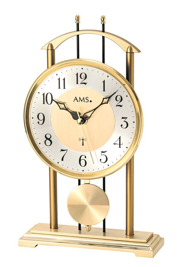 Stolní kyvadlové hodiny 5193 AMS řízené rádiových signálem