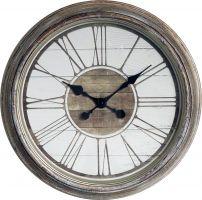 Retro nástěnné hodiny s římskými číslicemi velké