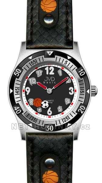 Chlapecké náramkové hodinky JVD basic J7038.1.1, J7038.3.2, J7038.4.3, pro kluky J7038.1.1