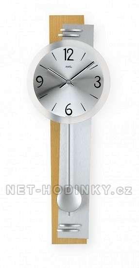 Kyvadlové hodiny AMS 7255/18