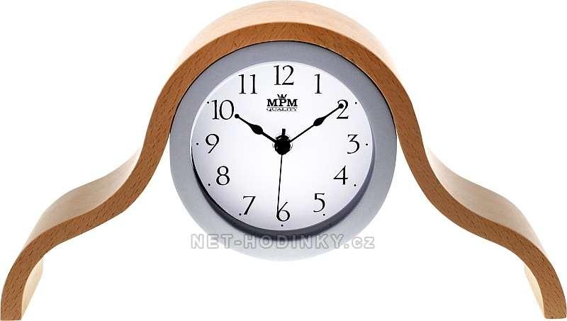 MPM Quality Luxusní bateriové stolní hodiny