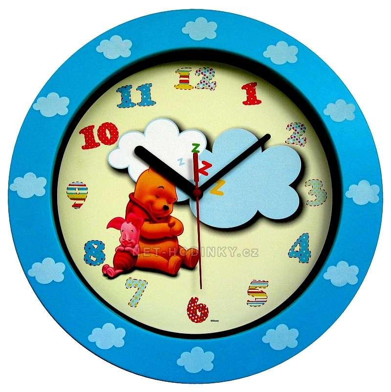 Nástěnné hodiny na stěnu, nástěnné hodiny na zeď kulaté dětské