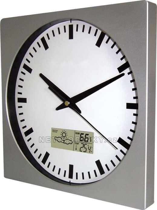 Nástěnné hodiny plastové MPM Quality