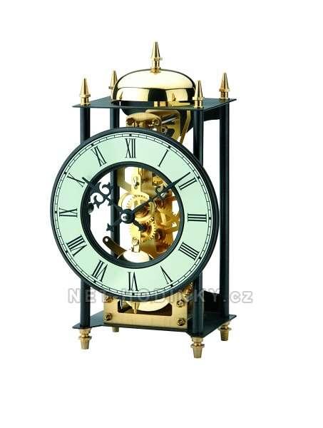 Originální mechanické stolní kovové hodiny AMS 1180