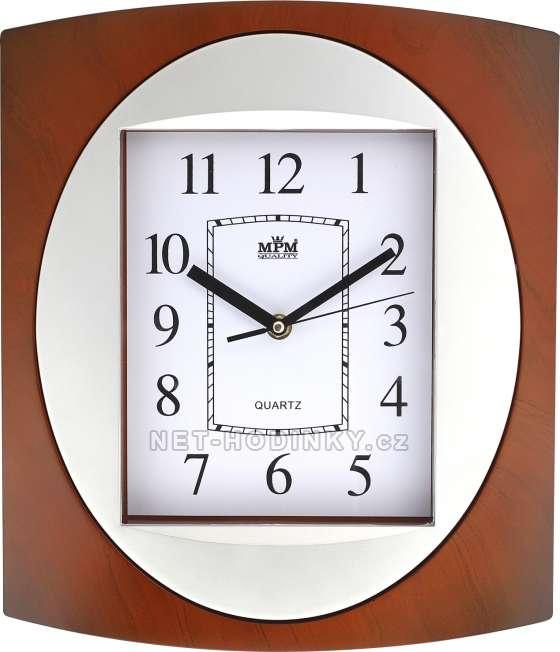 Plastové hodiny MPM Quality