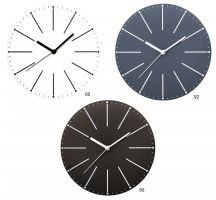 Nástěnné kulaté hodiny bílá E01.3692.00