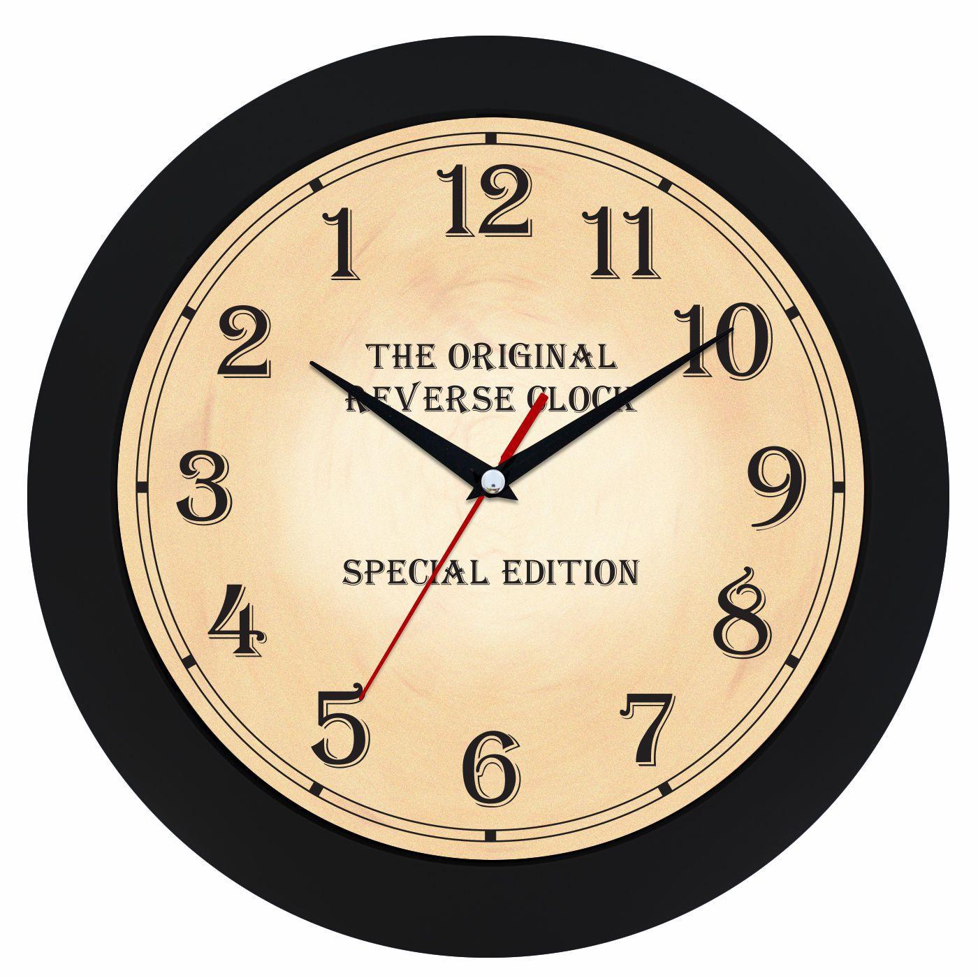 nástěnné hodiny kulaté na zeď, do kuchyně, pracovny, restaurace černá