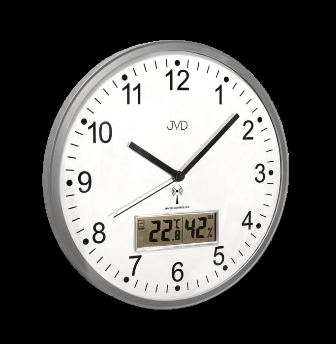 Rádiem řízené nástěnné hodiny JVD RH78.1