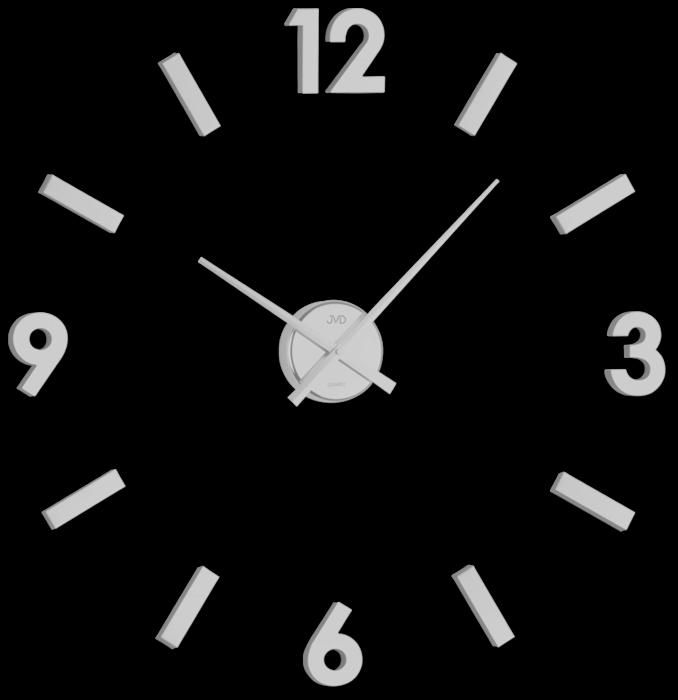 Nástěnné nalepovací hodiny JVD HC20.1