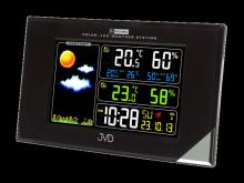 Rádiem řízená meteorologická stanice JVD černá RB9197.1
