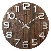 Nástěnné hodiny dřevěné JVD HT97.3