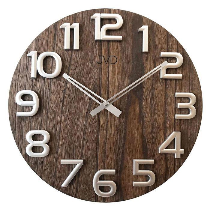 Nástěnné hodiny Nástěnné hodiny dřevěné JVD HT97.3 Nástěnné hodiny