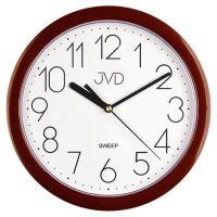 Nástěnné hodiny JVD sweep HP612.16 staro-růžová barva metalická
