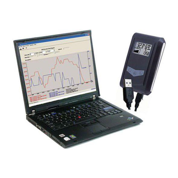 Datový snímač teploty a vlhkosti dataloger DS100.11 USB