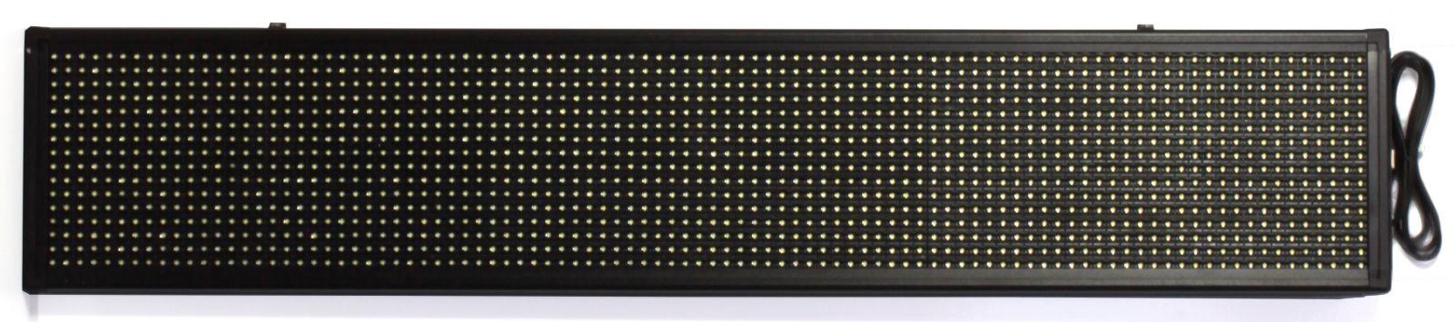 Nástěnné hodiny Informační LED panel pro zobrazování textu C02.3567.01295 Nástěnné hodiny