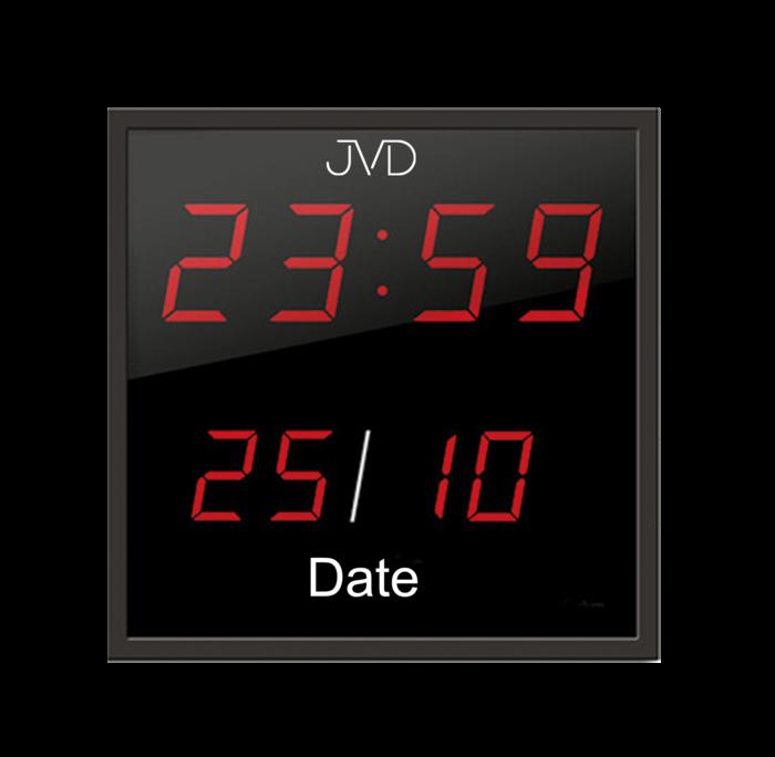 Digitalní nástěnné hodiny JVD DH41