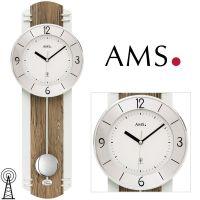 Rádiem řízené kyvadlové hodiny AMS 5292