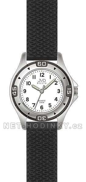 Dětské náramkové hodinky JVD basic J7033.1.1, J7033.5.5 hodinky pro kluky i holky J7033.1.1