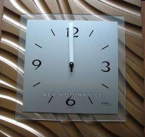 Nástěnné hodiny AMS 9329 čtvercové